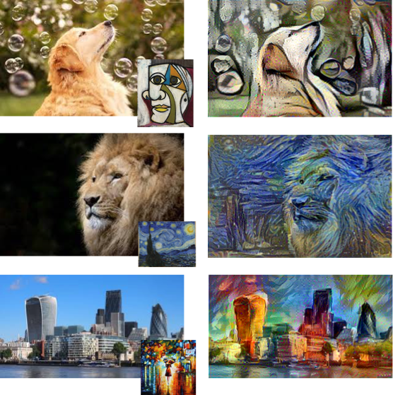 Style Transfer in Real-Time